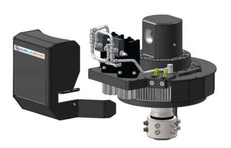 Gravemaskine-rotator GRI detaljer