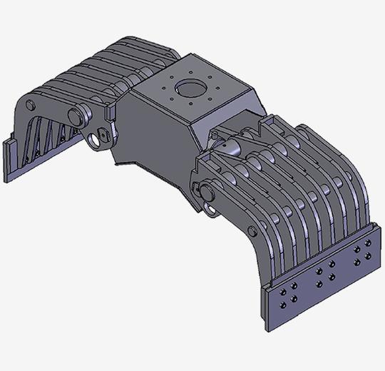 sorteringsgrabbe 15 DG-20 DGW