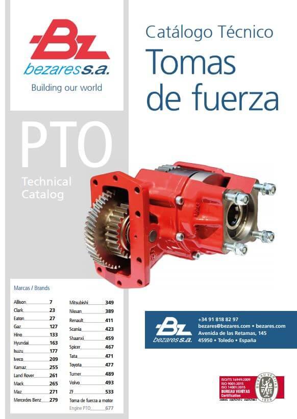 Bezares PTO katalog